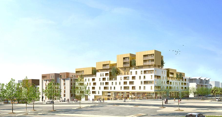 100 logements collectifs zac des grisettes marjan. Black Bedroom Furniture Sets. Home Design Ideas